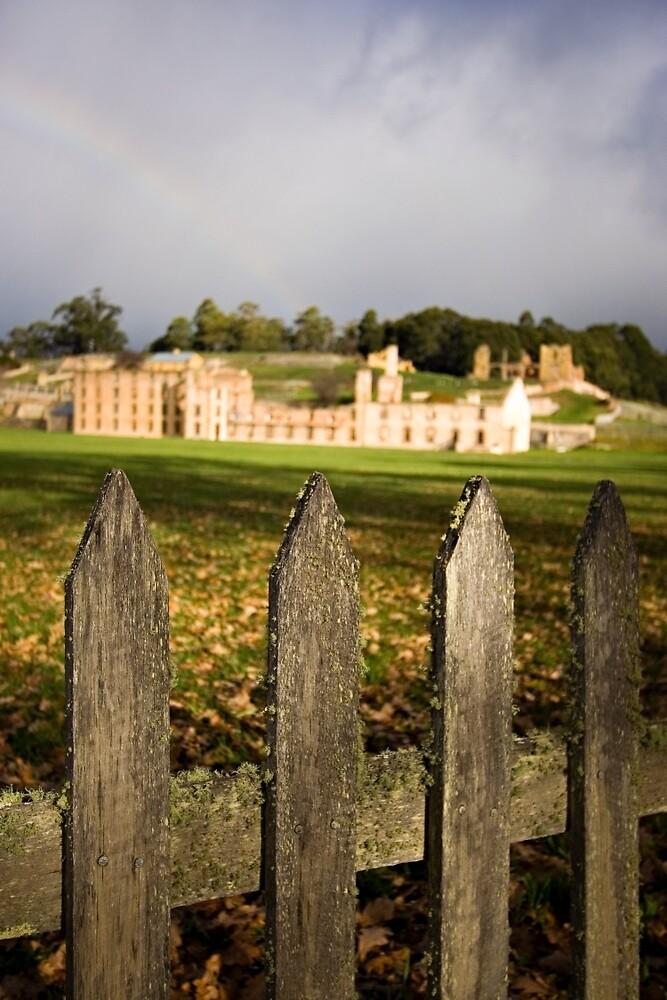 Port Arthur fence by Martin Pot