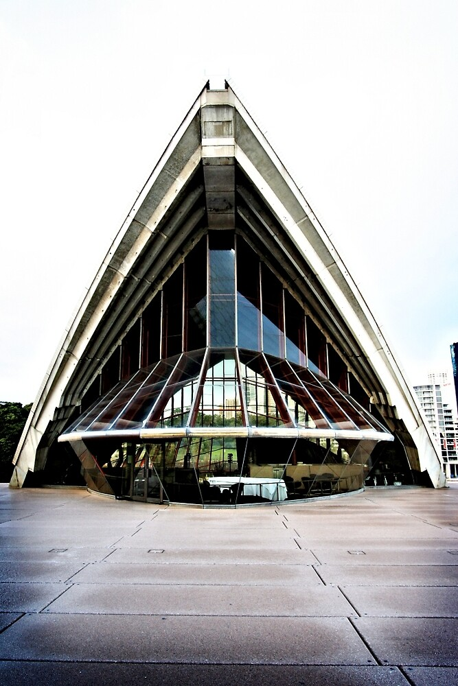 Guillaume at Bennelong restaurant in the Sydney Opera House  by Martin Pot