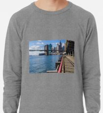 Sudadera ligera Brooklyn Bridge, New York, USA.