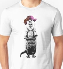 I Really Otter Be Going Now Slim Fit T-Shirt