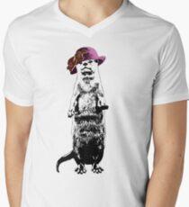 I Really Otter Be Going Now Men's V-Neck T-Shirt