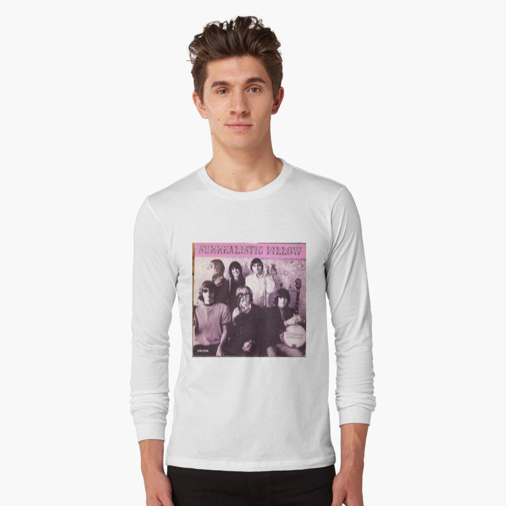 Jefferson Airplane Surrealistic Pilloe Original Mono lp Long Sleeve T-Shirt Front