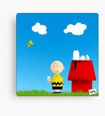 #peanuts Canvas Print