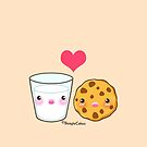 BFF Milk & Cookie by beaglecakes
