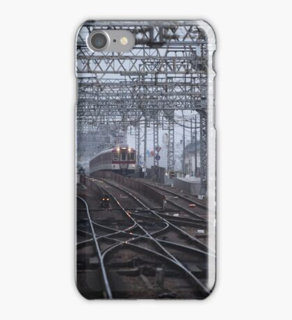 Saidaji train tracks iPhone Case/Skin