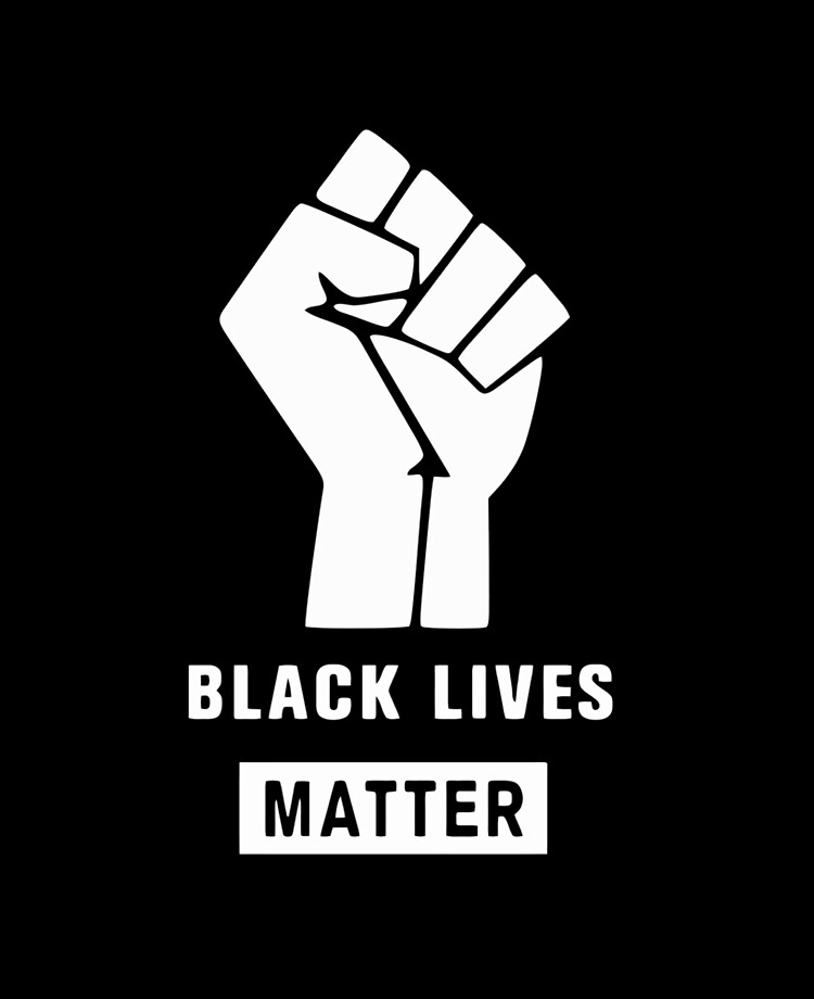 "Black Lives Matter Logo and Text"" iPad Case & Skin by samagid ..."