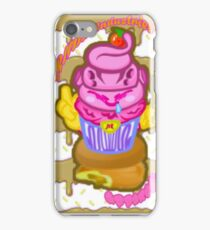 Majin's Chocolate Buu Cakes iPhone Case/Skin