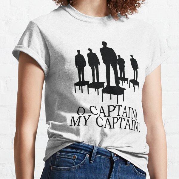 Dead Poets Society - O Captain My Captain Classic T-Shirt
