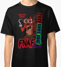 Foxy Sees You! Classic T-Shirt