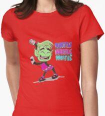 Teen Titans Go! Beast boy  Women's Fitted T-Shirt