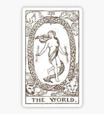 The World Tarot Sticker