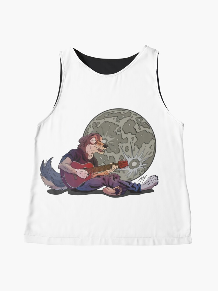 Alternate view of Howlin' at the Moon Sleeveless Top