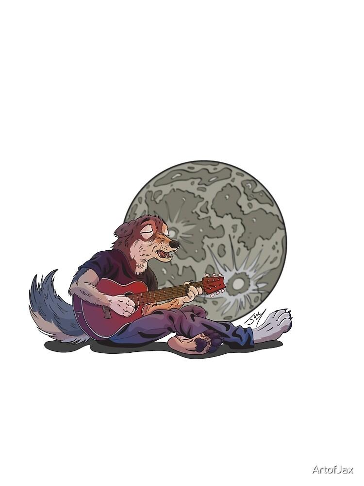 Howlin' at the Moon by ArtofJax