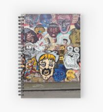 Fitzroy Faces Spiral Notebook