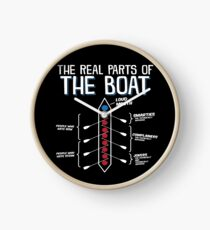 The Real Parts Of The Boat Clock