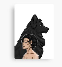 Sirius and Padfoot Canvas Print