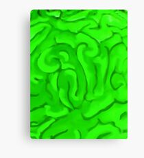 BRAINS (Zombies) Canvas Print