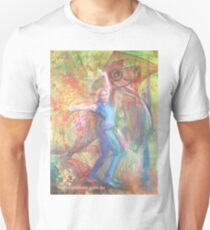 Self portait with Dragon Unisex T-Shirt