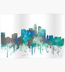 Los Angeles Skyline - SG Jungle Poster