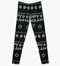 Let's Get Lit Menora Candles Chanukah Hanukkah Shirt Leggings