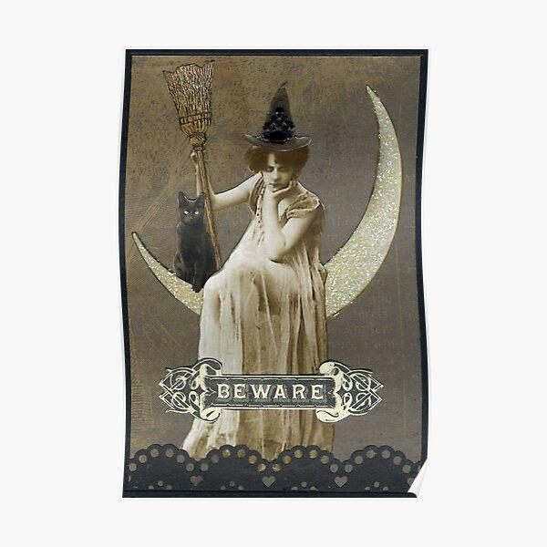 Bad Mood Moon Poster