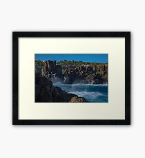 Bombo Rock Quarry NSW  Australia Framed Print