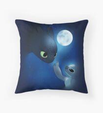 How to Train Stitch's Dragon Throw Pillow