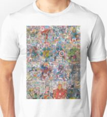 Superheroes Galore Unisex T-Shirt