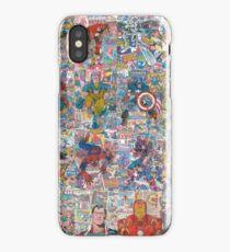 Superheroes Galore iPhone Case