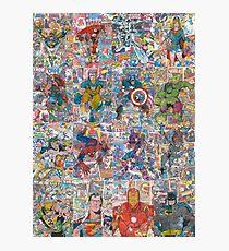 Superheroes Galore Photographic Print