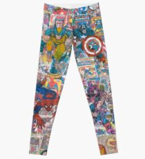 Superheroes Galore Leggings