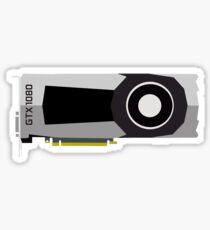 Minimal GTX 1080  Sticker