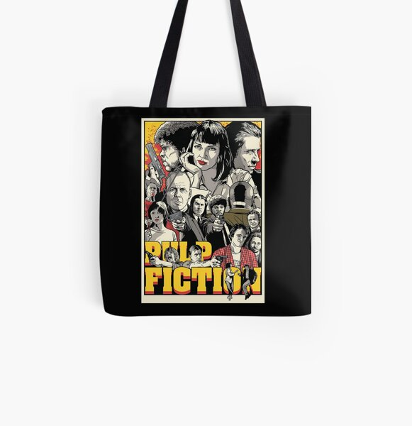 Pulp fiction All Over Print Tote Bag