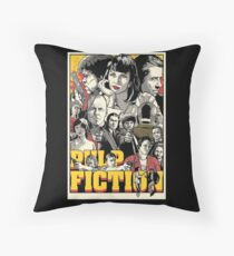 Pulp fiction Throw Pillow