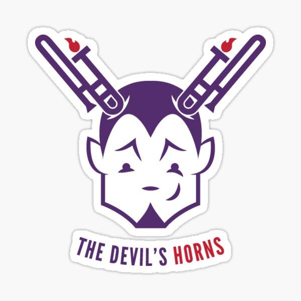 The Devil's Horns! Sticker