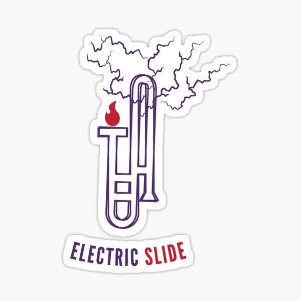 Electric Slide! Sticker