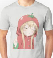 Kawaii als Heck-Tomaten-Mädchen Slim Fit T-Shirt