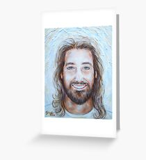His Smile Lights The World Greeting Card