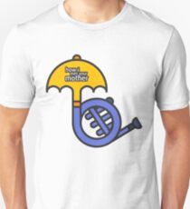 Blue French Horn/Yellow Umbrella How I met your mother T-Shirt