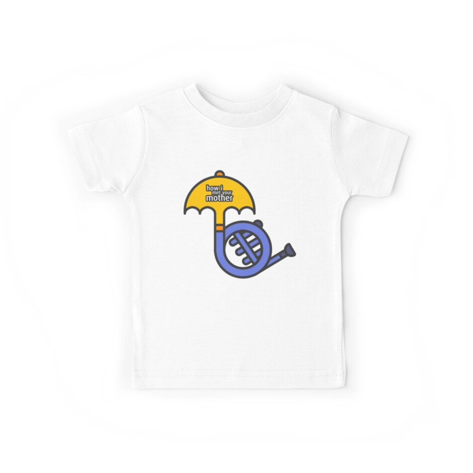 Blue French Horn/Yellow Umbrella How I met your mother by HIMYM-EAFAM