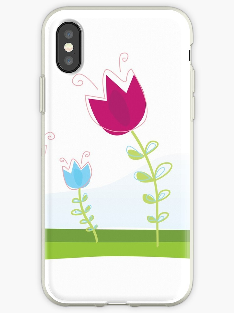 New! Stylish colorful Tulips are in Designers shop by Bee and Glow Illustrations Shop
