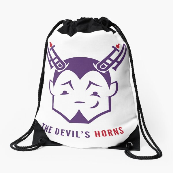 The Devil's Horns! Drawstring Bag