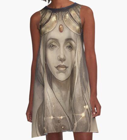 Zodiac Capricorn A-Line Dress
