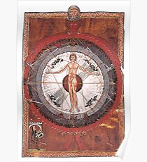 Universal Man, Book of Divine Works Poster