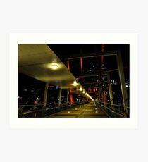 kurilpa bridge, brisbane, queensland, australia Art Print
