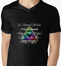 Legend of Zelda, Courage Men's V-Neck T-Shirt