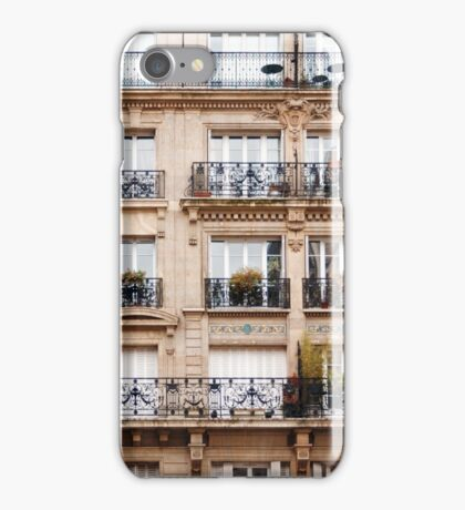 Traditional French Architecture iPhone Case/Skin