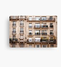 Traditional French Architecture Canvas Print