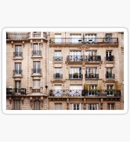 Traditional French Architecture Sticker