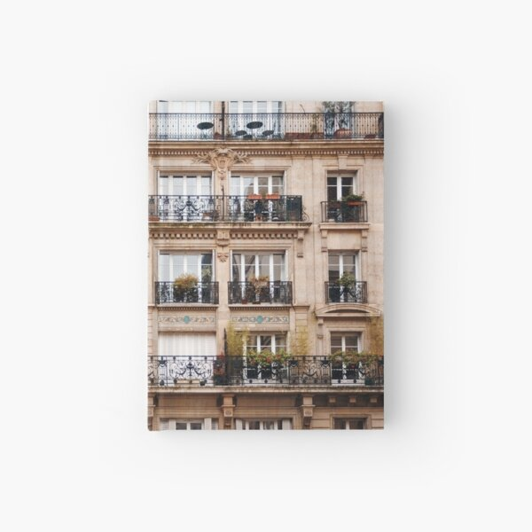 Traditional French Architecture Hardcover Journal